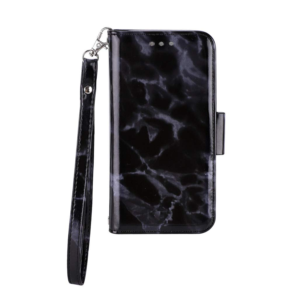 Amazon.com: Voberry Marble Leather Printed Painting Pattern Phone Case Cover Compatible iphone XS5.8 inch (Black): Beauty