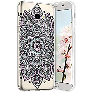 Robinsoni Cover per Samsung A7 2017 Cover Silicone Galaxy A7 2017 Case Trasparente Custodia in Gomma Morbido TPU… 7 spesavip