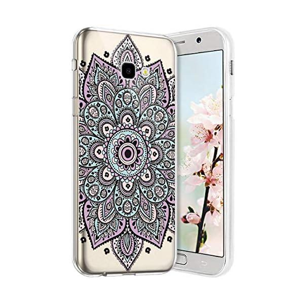 Robinsoni Cover per Samsung A7 2017 Cover Silicone Galaxy A7 2017 Case Trasparente Custodia in Gomma Morbido TPU… 1 spesavip