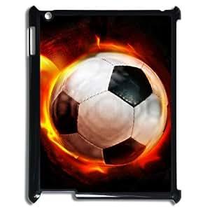ALICASE Diy Cover Custom Case Football For IPad 2,3,4 [Pattern-1]