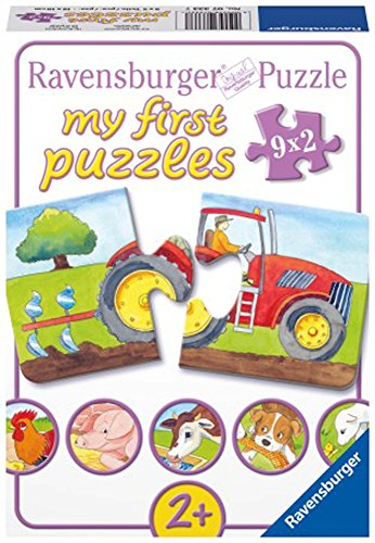 (Ravensburger at The Farm My First Puzzles, 2-Piece)