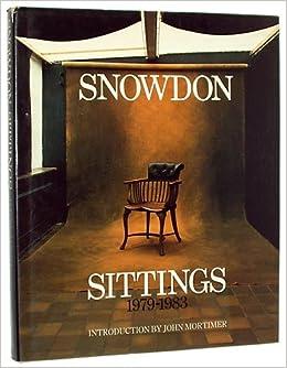 snowdon sittings 1979 1983