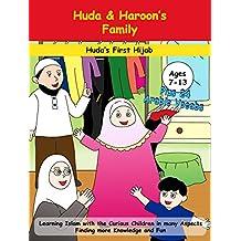 Huda & Haroon's Family: Huda's First Hijab (Muslim Kids Genius Book 1)