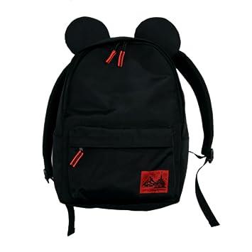 dc72e232819a ミッキー マウス 型 大人 用 リュック (黒) バッグ バック 鞄 かばん ( 東京 ディズニー