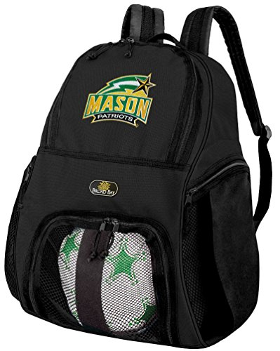 Broad Bay George Mason University Soccer Backpack or GMU Volleyball Bag by Broad Bay