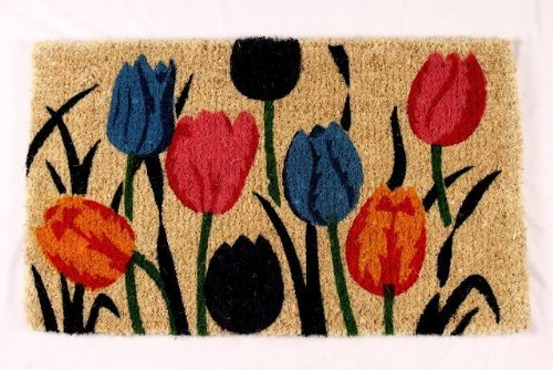 kempf-multi-tulip-natural-coco-doormat-18-by-30-by-1-inch
