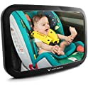 Automio Car Adjustable Acrylic Backseat Rear View Baby Mirror