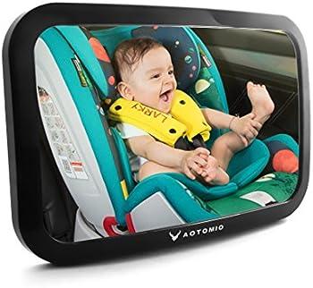 Automio Car Adjustable Acrylic Backseat Rear View Baby Mirror