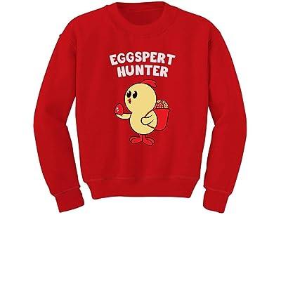 Tstars Eggspert Hunter - Easter Egg Hunt Gift For Kids Toddler/Kids Sweatshirts