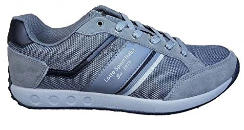 Zapato Lote Gimnasia Hombre Sport R6394 keviniiiny gris Gimnasio Casual Sneak