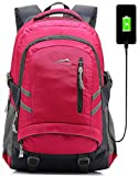 Backpack Bookbag for School College Student Sturdy Travel Business Laptop Compartment...