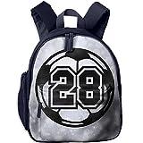 Mini School Bags Original With 28 Soccer For Kindergarten Unisex Children Navy