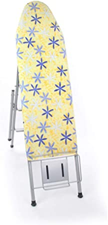 LQTYB Espacio Tabla de Planchar en frío, Escalera Antideslizante for facilitar el Almacenamiento de Las Tapas de Anti-Arrugas, Tabla de Planchar, Plancha Vertical Estable (Color : A): Amazon.es: Hogar