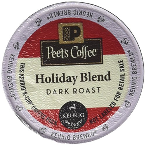 Peets Coffee Holiday Blend K Cup