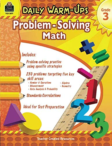 Daily Warm Ups: Word Problems - Book - Grade 3 ()