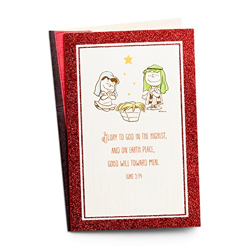 Christmas Boxed Cards - Peanuts - Charlie, Lucy and the Manger -