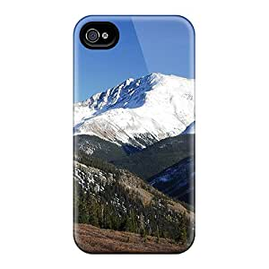 Fzcxt18237tcIyQ MagicSpace Mountain Range Feeling Iphone 4/4s On Your Style Birthday Gift Cover Case