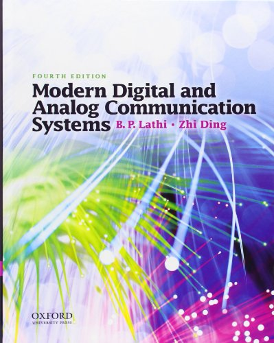 Modern Digital And Analog Communication Systems  The Oxford Series In Electrical And Computer Engineering