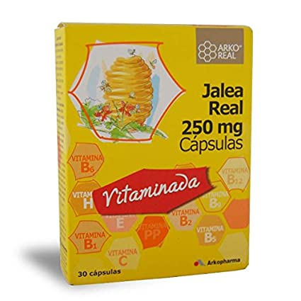 ArkoReal Jalea Real Vitaminada, 30 Cápsulas: Amazon.es ...