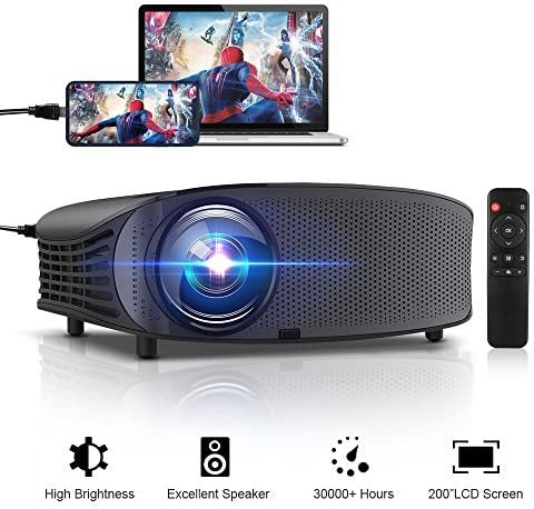 GBTIGER LED Video Projector