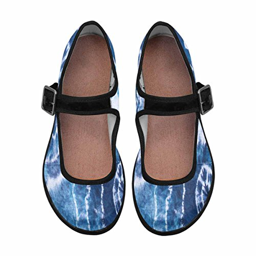 15 Womens Jane InterestPrint Shoes Flats Multi Mary Comfort Walking Casual P4wxpHwq