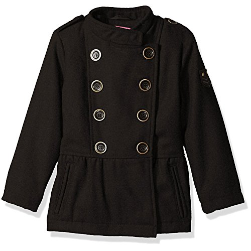 Wool Belted Military Coat - 1