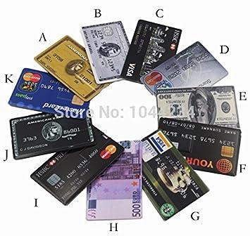 ARBUYSHOP unidad flash USB negocio de tarjetas de crédito ...