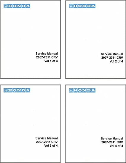 amazon com: bishko automotive literature 2007 2008 2009 2010 2011 honda cr-v  shop service repair manual book engine oem: automotive