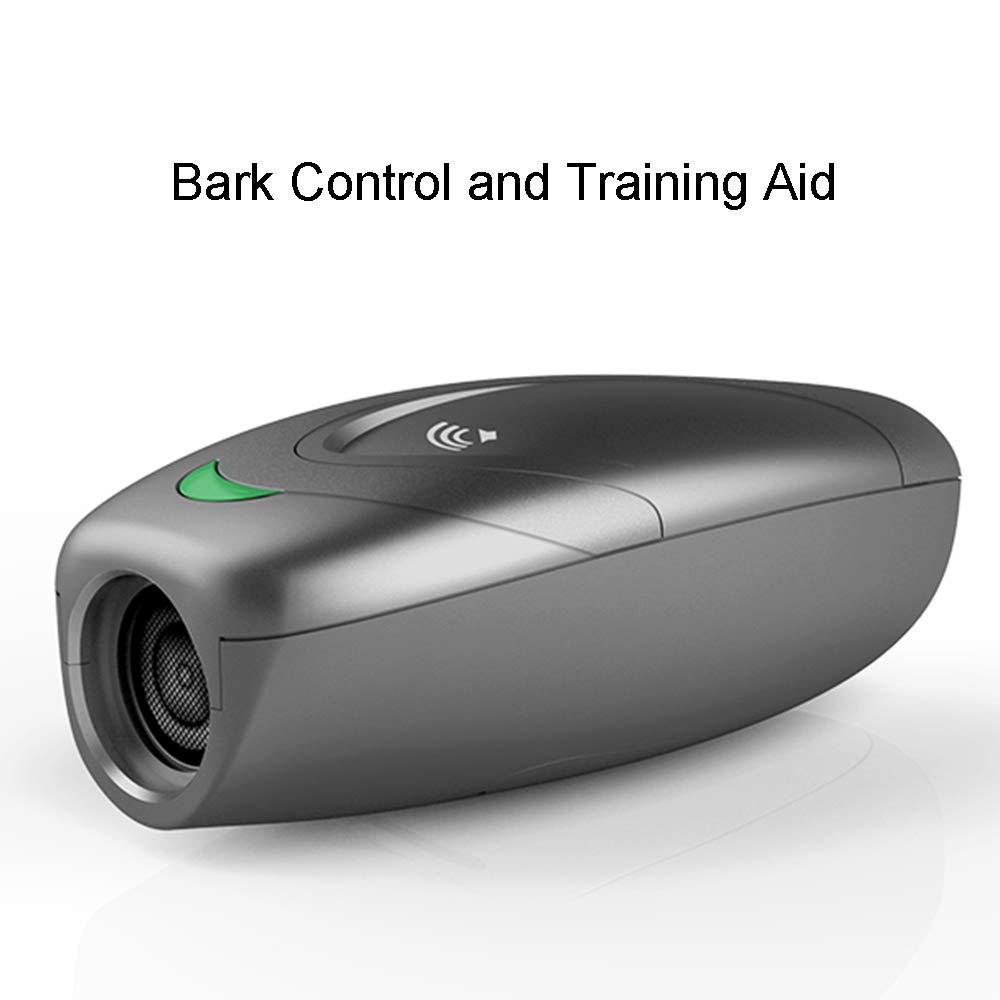 Weyio Handheld Dog Trainer Anti Barking Device Handheld ultrasonic Dog bark Deterrent with Wrist Strap Portable Dog Trainer with LED Indicator Light (Gray) by Weyio (Image #4)