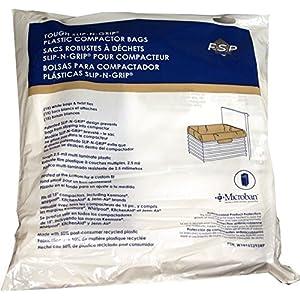 """Genuine Trash Compactor Bags W10165295RP Whirlpool Kenmore 15"""" Plastic 30 Pack Genuine OEM"""