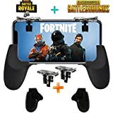 Fortnite PUBG Mobile Controller - SVZIOOG Mobile Game Controller(1Pair+1Gamepad),Cellphone Game Trigger Mobile Gaming Joysticks for Android IOS