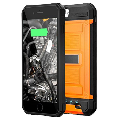 Kujian orange iphone 8 case 2019
