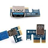 Ubit 12-PCS PCI-E Riser for Bitcoin\Litecoin\ETH