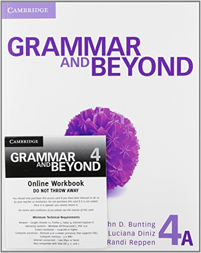 Grammar And Beyond Level 4 Student's Book A And Workbook Pack