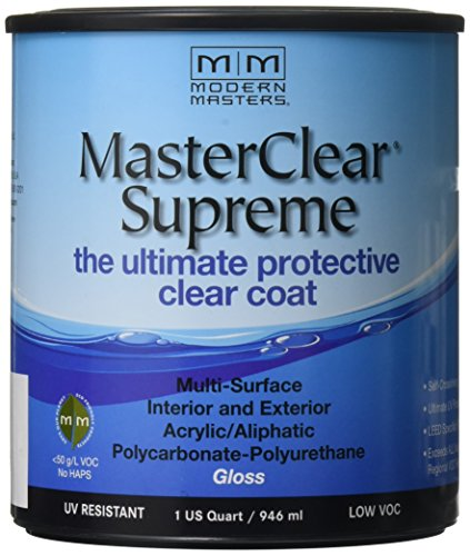 MODERN MASTERS MCS90432    Clear Coat Gloss