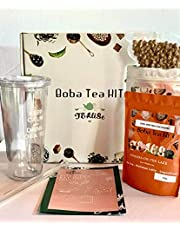 Tealise Milk Boba tea start kit with Reusable Double wall Cup