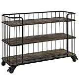 Cheap Modway Cinch Industrial Modern Rustic Metal and Wood Stand