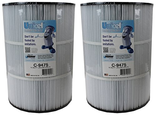 2) NEW Unicel C-9475 Jacuzzi Spa CFR 75 Sq Ft Filter Cartridges Element PJ75-4