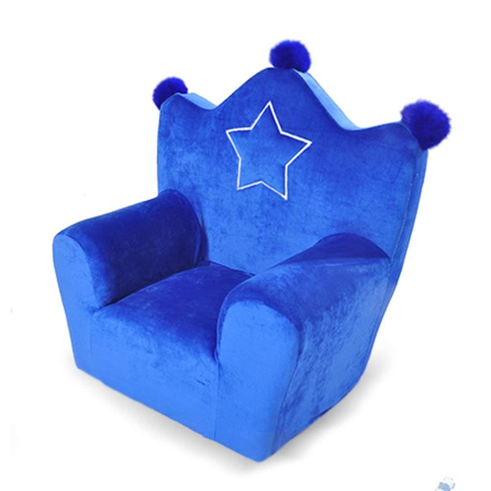 Wenzhihua Enfants Chaise rembourr/é Enfants Canap/é De S/écurit/é /Éponge Et Doux Fauteuil Couch Couleur : Rose, Taille : 42x34x47cm