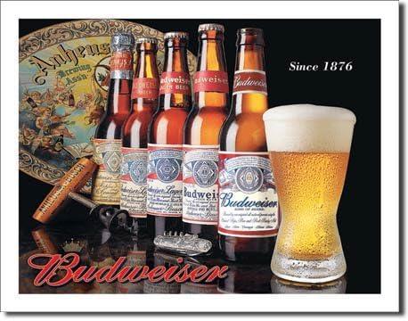 Bia Budweiser có nặng không?