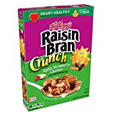 Kellogg's Raisin Bran Crunch, Breakfast Cereal, Apple Strawberry, Good Source of Fiber, 14.5 oz Box(Pack of 10) Review