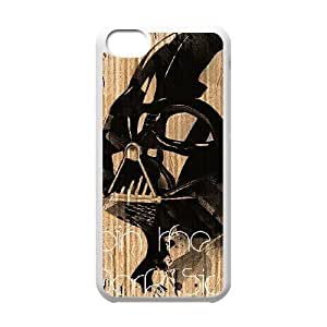 Star Wars Darth Vader Image On The iPhone 5c White Cell Phone Case AMW896439