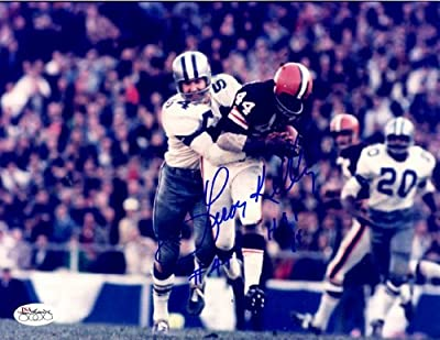 Autographed Leroy Kelly 8x10 Photo Cleveland Browns