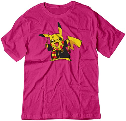 BSW Youth Pikachu Potter Harry Potter Shirt MED Raspberry