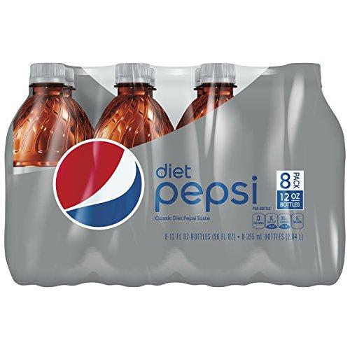 (Diet Pepsi, 12 Fl Oz, 8 Count)