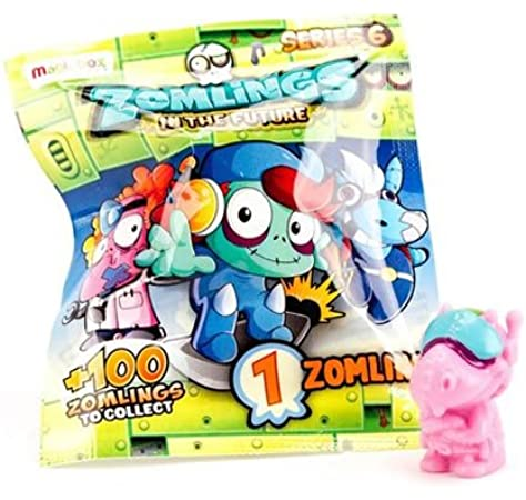 ZOMLINGS MBXZM6P0100 In The Future Series 6 - Paquete: Amazon.es: Juguetes y juegos