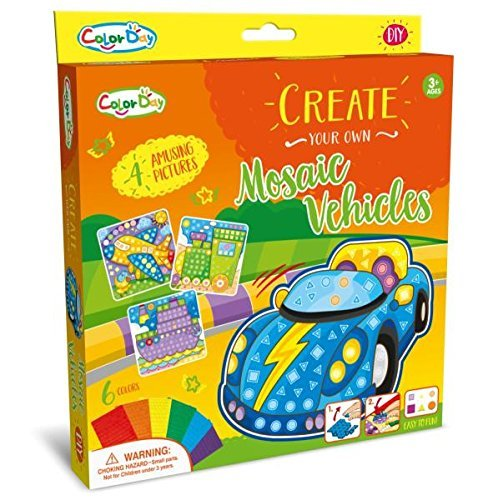 Mosaic Sticker Craft Activity Kit
