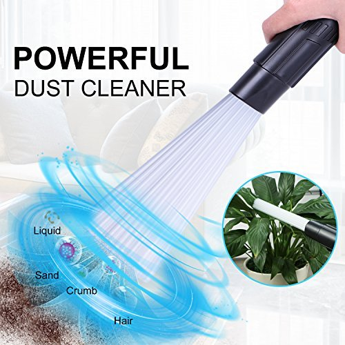 NEWBEA-Dust-Daddy-Universal-Vacuum-Cleaner-Attachment-Dust-Brush-As-Seen-On-TVDirt-Remover-with-Strong-SuctionFlexible-Tube-Cleaning-Tool-for-CarCorners-Pets-DrawersHomeFurnitures