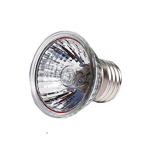 ABURA 75 Watt UVA/UVB Halogen Lamp,Full spectrum Reptilian Lamp Lizard Lamp UV Lamp For Reptiles And Amphibians Habitat Lighting