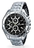 Bling Jewelry Steel Back Tachymeter Chronograph Style Mens Jewelry Watch Alloy
